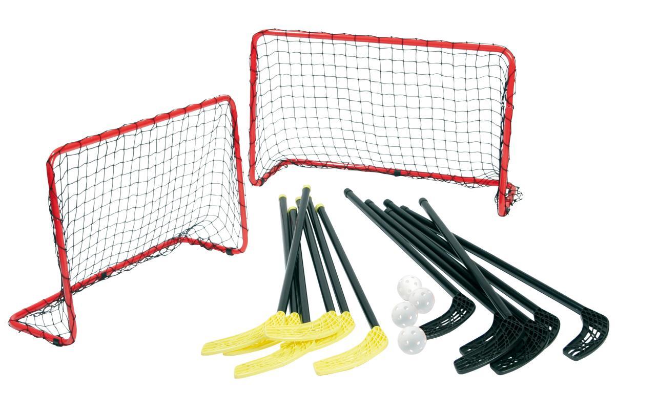 Floorball (2 doelen + 12 sticks)